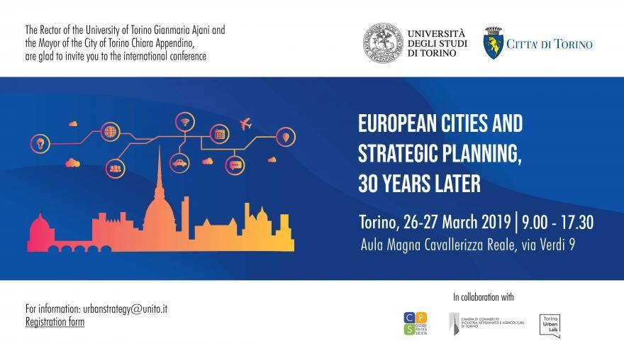European cities and strategic planning, 30 years later